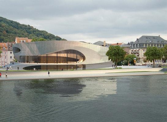 Anerkennung erweiterung stadthalle heidelberg competitionline - Architekturburo heidelberg ...