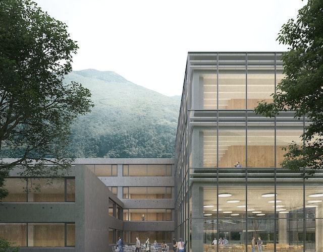 Erweiterung und Renovierung des Gymnasiums in Bellinzona / Ampliamento e ristrutturazione Liceo Cantonale di Bellinzona