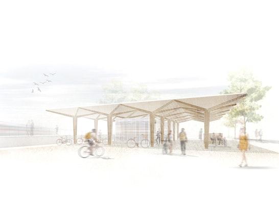 Architekturbüro Sindelfingen ergebnis mobilitätspavillon am bahnhof sindelfinge competitionline
