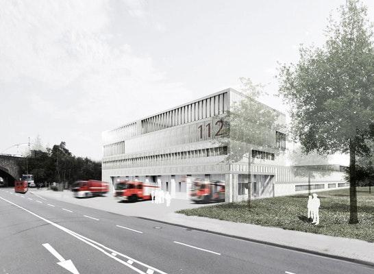 Ergebnis Neubau Des Feuerwehrzentrums Competitionline
