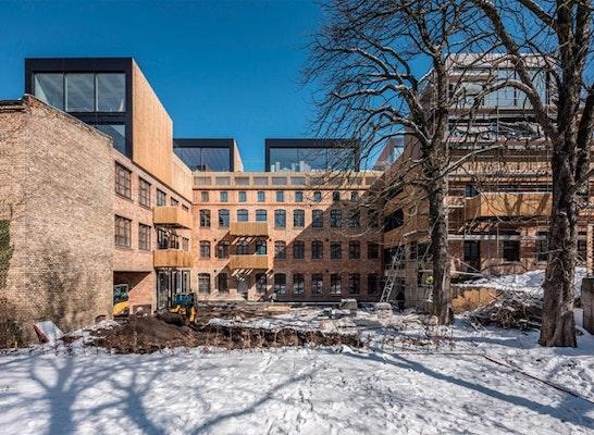 Umbau und Erweiterung Textilmanufaktur in Halle von snarq architekten