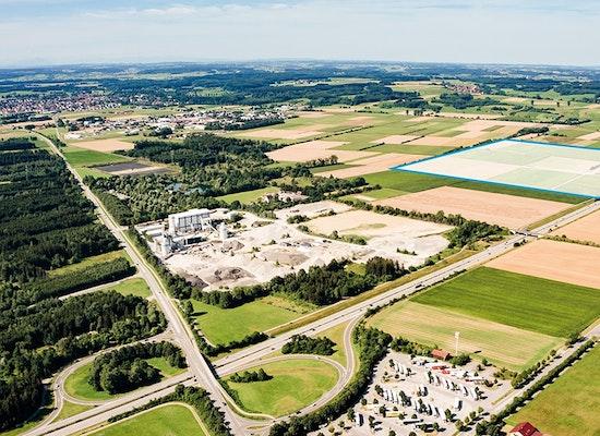 Projekt Quot Interkommunaler Gewerbepark A96 Bad W 246 Rish