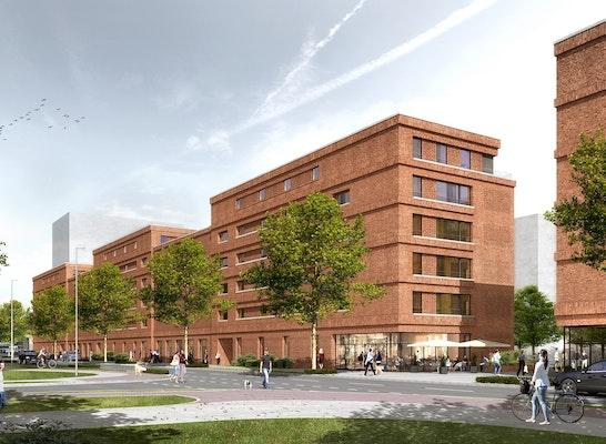 1. Preis: Ansicht Konsul-Smidt-Straße von Norden, © Stefan Forster Architekten