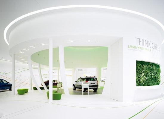 projekt skoda markenpavillon in der autostadt wolfs. Black Bedroom Furniture Sets. Home Design Ideas