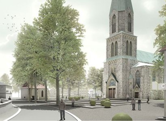 Ergebnis realisierungswettbewerb kirchplatz st ale for Innenarchitekten hannover