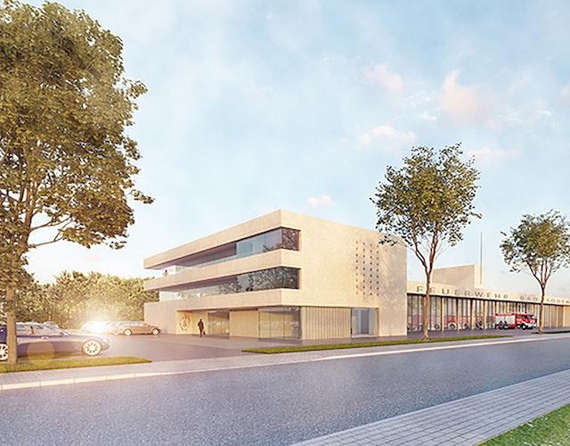 Neubau Feuerwache Bad Soden am Taunus