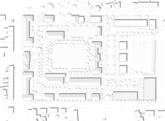 1. Preis: Lageplan, © h4a Architekten