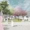 Perspektive Vorplatz - Umgestaltung Vorplatz Erziehungsverein