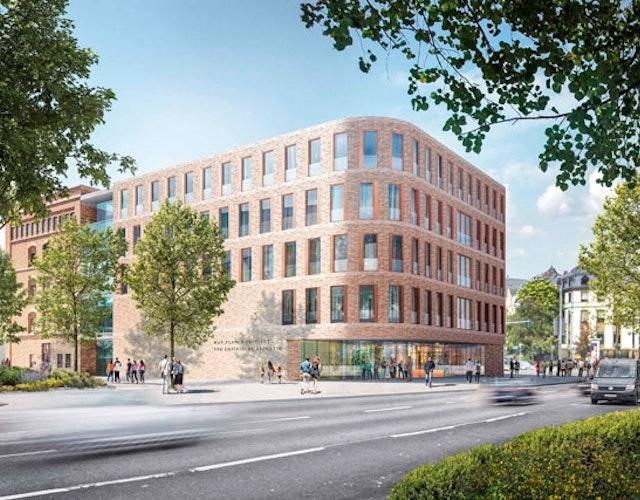 Neubau des Max-Planck-Instituts für empirische Ästhetik (EMAE) in Frankfurt am Main