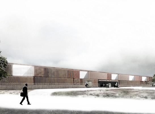 Neubau Depot Und Werkst 228 Tten Des Landesamtes F 252 R K