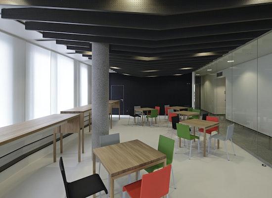 projekt cafeteria sparkasse freiburg im quartier un competitionline. Black Bedroom Furniture Sets. Home Design Ideas