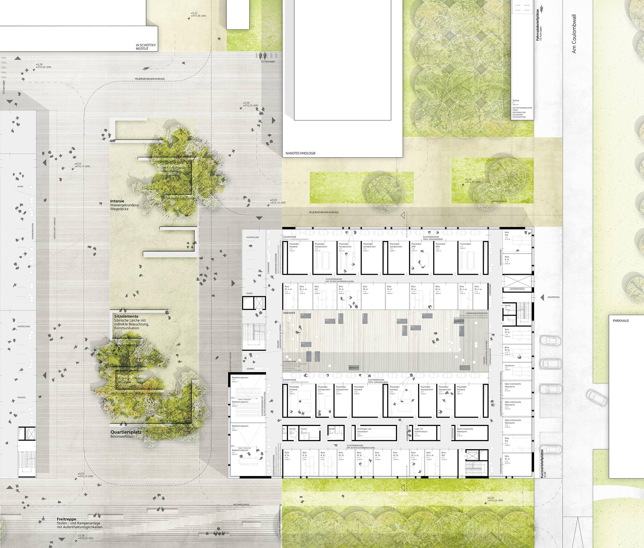 Ergebnis: Neubau eines Institutsgebäudes für Physi...competitionline