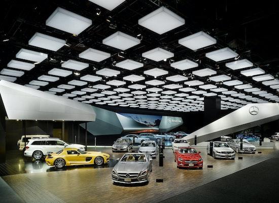 Projekt Quot Messeauftritt Mercedes Benz Naias Detroit 2