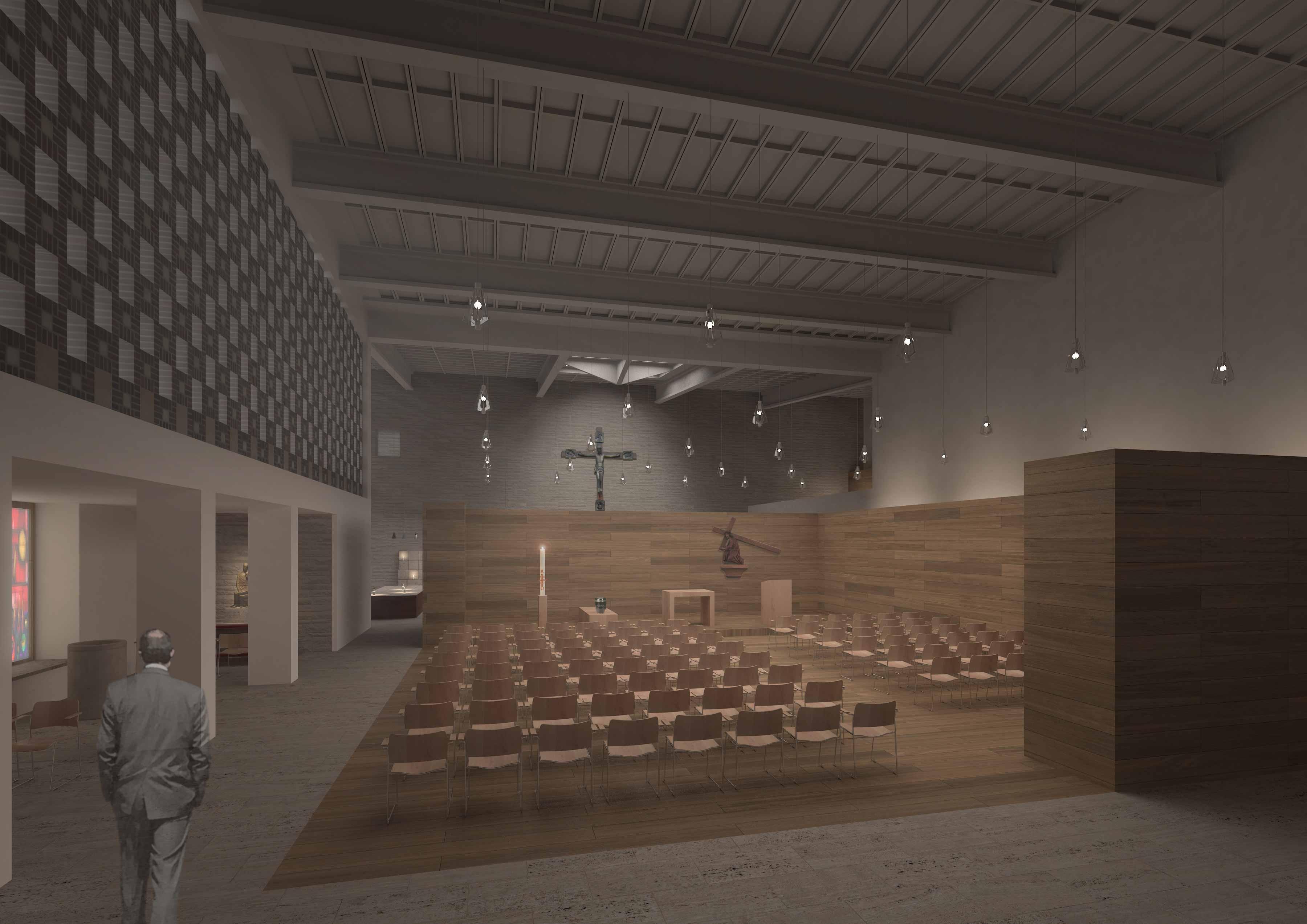 Architekt Rheine result kolumbarium st michael competitionline