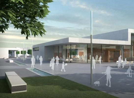 Glasfassade textur  Ergebnis: Stadthalle Neunburg vorm Wald...competitionline
