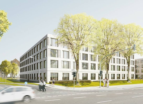 Ergebnis Neubau Des Buro Und Verwaltungsgebaudes Competitionline