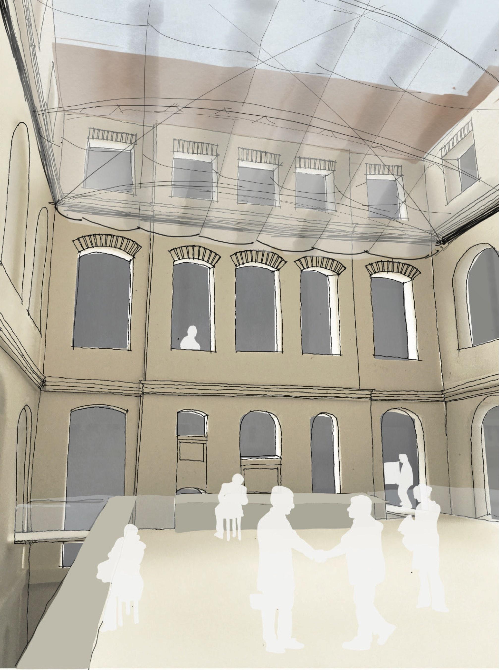 Innenarchitektur Tu Darmstadt ergebnis forum physik umbau des atriums im gebäu competitionline