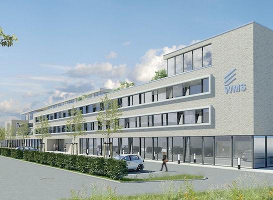 1. Preis: Bürogebäude - Eingangsbereich und Zufahrt, © O.M. Architekten