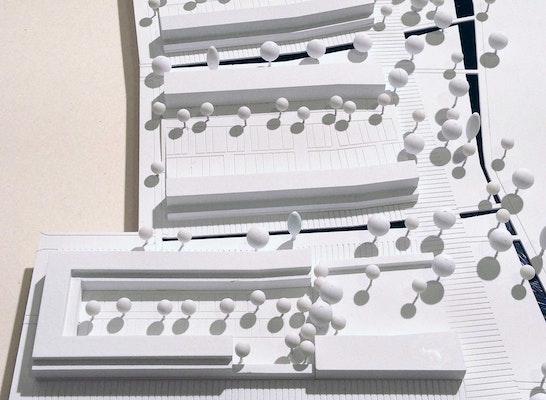1. Preis: Blick von Süden, © Köstlbacher Miczka Architektur Urbanistik und Wamsler Rohloff Wirzmüller FreiRaumArchitekten