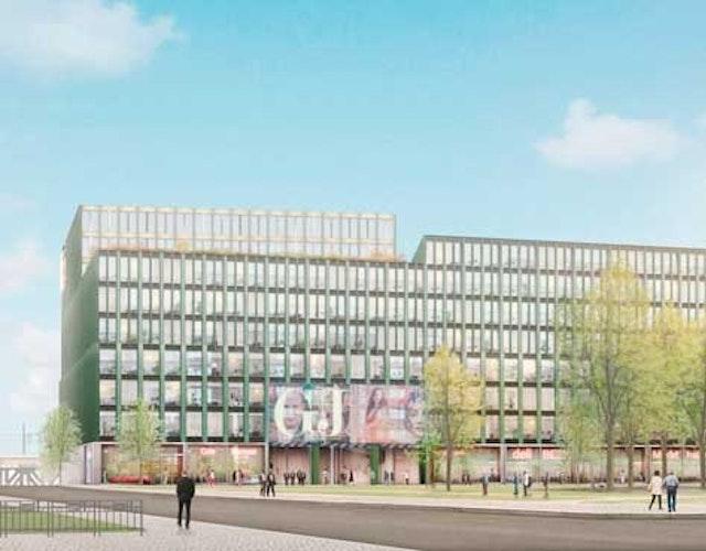 Neues Verlagshaus, Gewerbe und Wohnen in der HafenCity