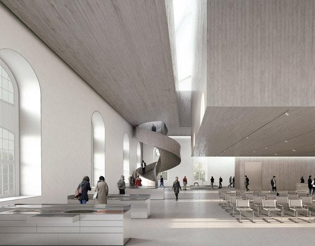 Umbau des Dresdner Blockhauses zum Archiv der Avantgarden (AdA)