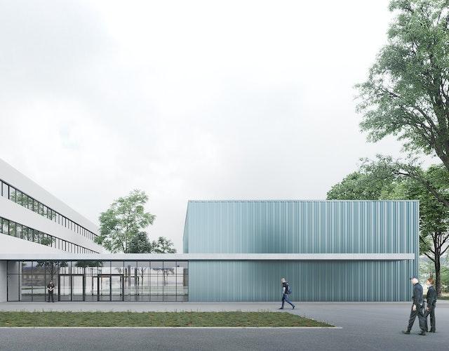 Erhöhung Ausbildungskapazität Hochschule der Sächsischen Polizei (FH) in Rothenburg, Objektplanung Gebäude, Vergabenummer 18 D2 10 008