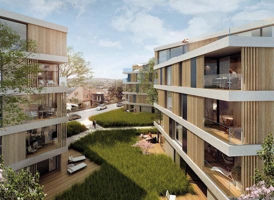 Wohnbebauung stafflenbergstra e competitionline - Kohler grohe architekten ...