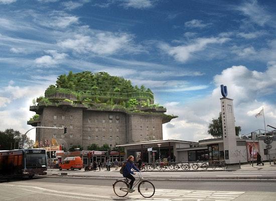 Projekt stadtgarten auf dem bunker feldstra e in h - Stadtgarten hamburg ...