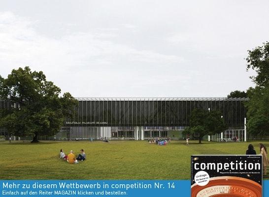 Was Ist Ein Bauhaus result bauhaus museum dessau neubau eines museums competitionline