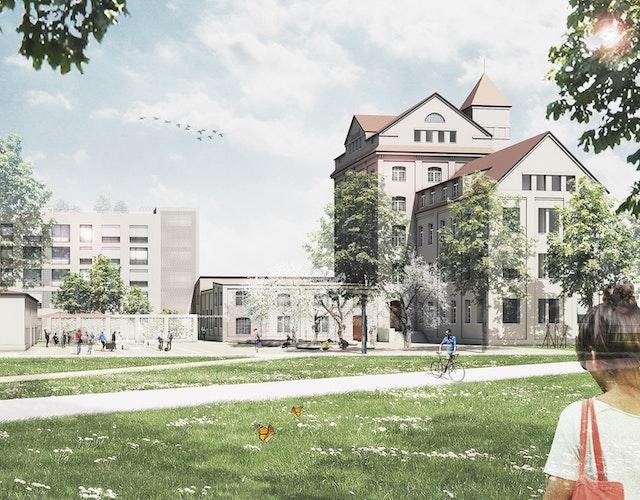 Baugebiet MI auf dem Diamalt-Gelände in München