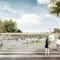 © städtischer Platz mit Eingangsgebäude, SEP Architekten / Lohaus + Carl
