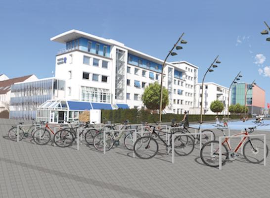 Visualisierung zukünftiger Siegfried-Ehlers-Platz