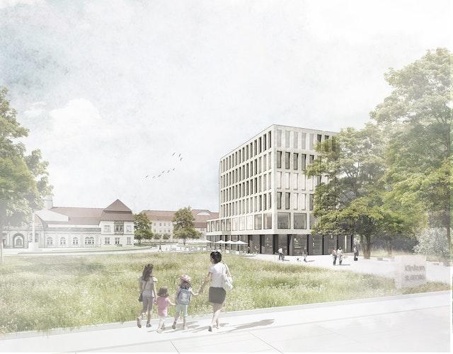 Planungsleistungen für den Neubau eines Ambulanzgebäudes mit MVZ