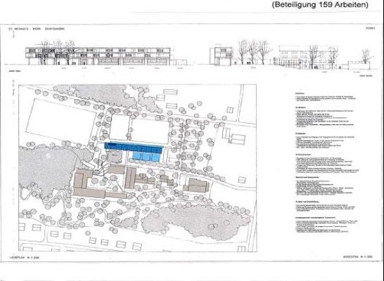 Fassadenausschnitt - Gesamtplan