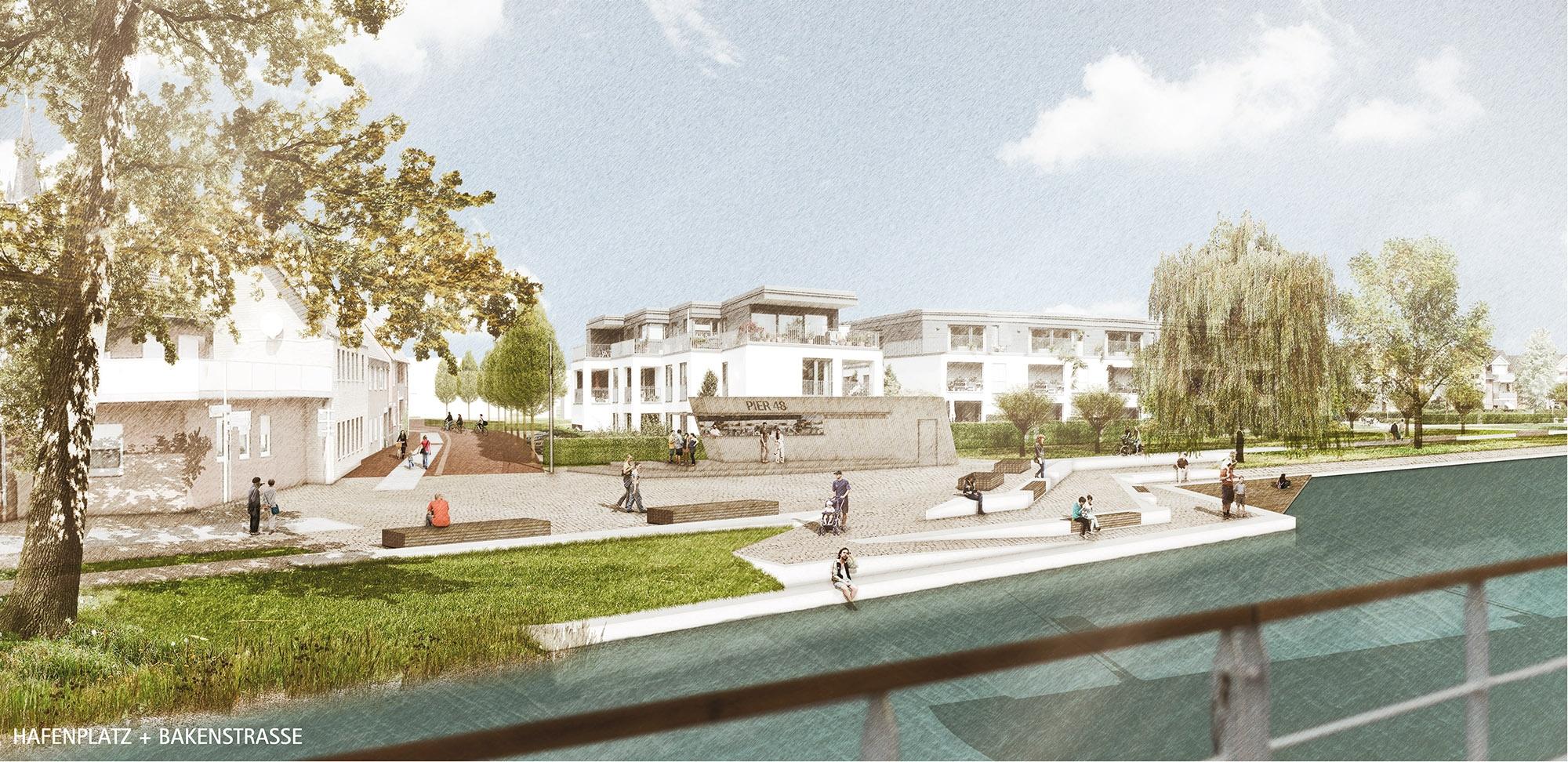 1. Preis Platzgestaltung am Kanal und Promenade...competitionline