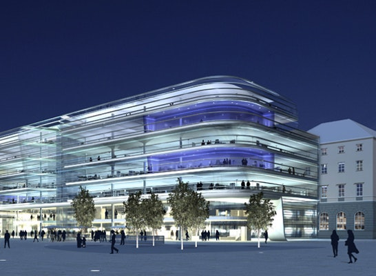 2 preis hauptbahnhof neubau des hauptempfangsgeb - Gkk architekten berlin ...
