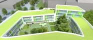 Wohnoase Innenhof 1.BA