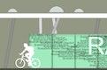 Ansicht Fahrradunterstand