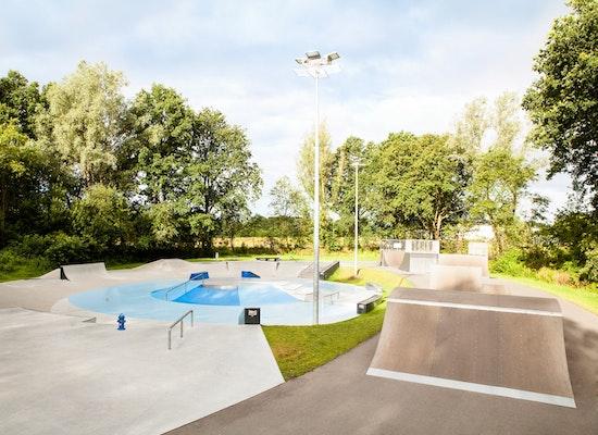 "Skatepark Bremerhaven Leherheide - ""Das Auge"""