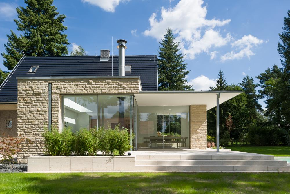 Moderne Anbauten projekt moderner anbau an ein einfamilienhaus competitionline