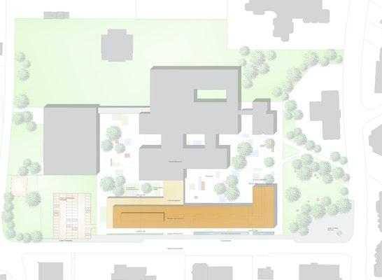 2 preis neubau stefan andres gymnasium in schweich competitionline. Black Bedroom Furniture Sets. Home Design Ideas
