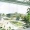 Blick auf den Campusplatz