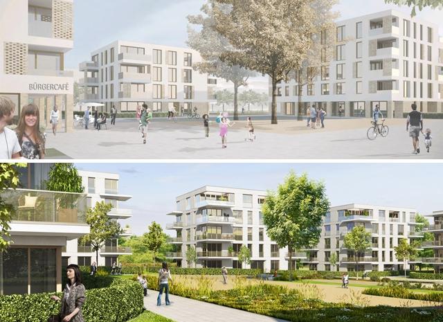 Landschaftsarchitektur München ergebnis neubebauung mit vertiefungen zum freifinan competitionline