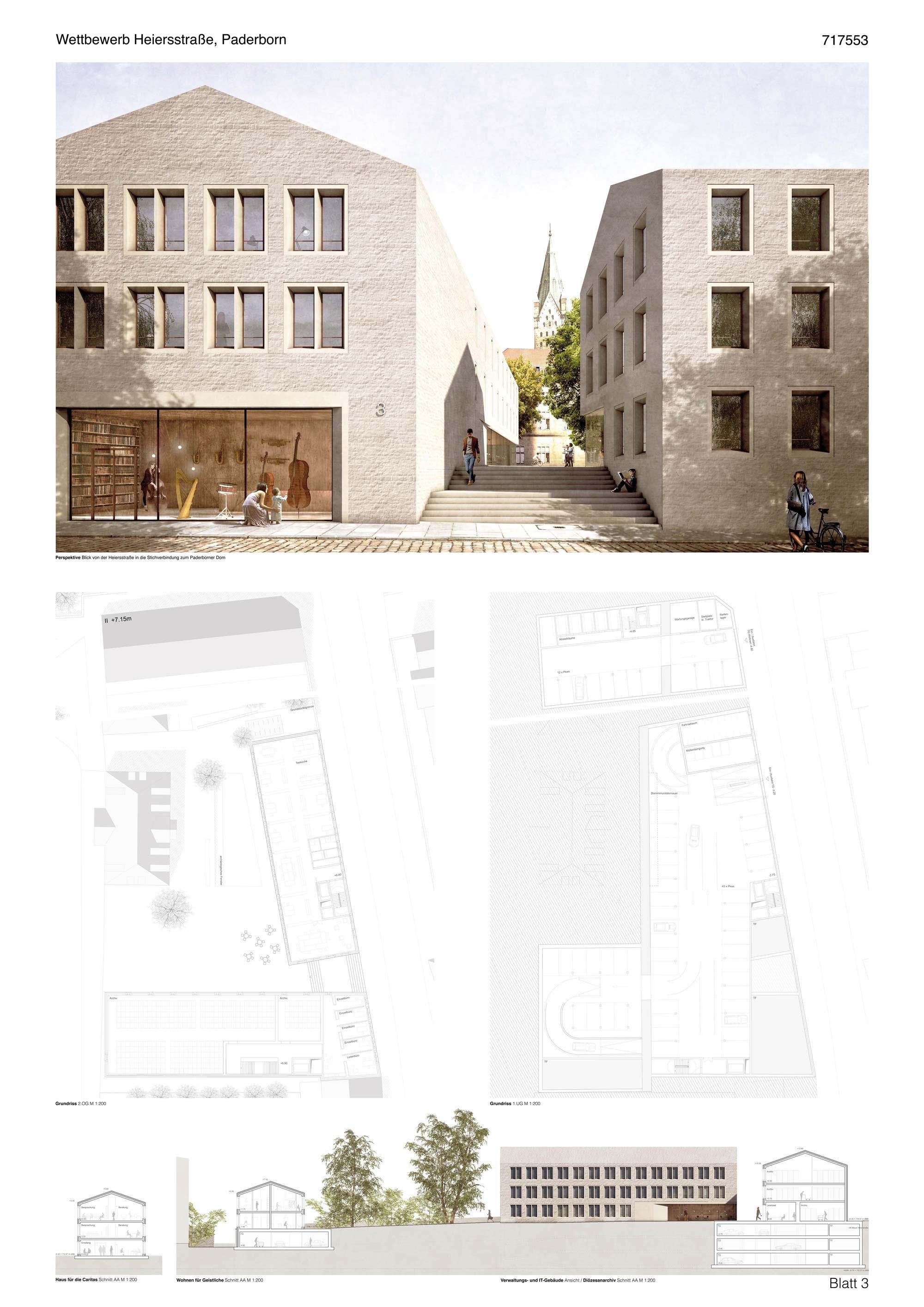 Architektur Paderborn ergebnis heiersstraße competitionline