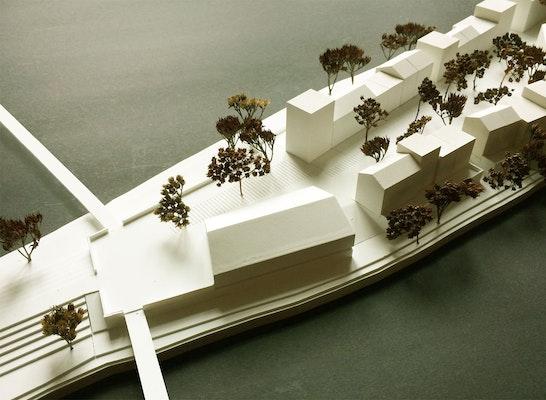 Modellfoto - Haus des Flusses
