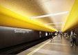 Wettbewerb U-Bahnhaltestelle Sendlinger Tor U1/U2 - Ebene -3 Bahnsteig OBERMEYER Planen + Beraten Day & Light Lichtplanung GbR