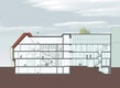 Schnitt Altbau-Neubau