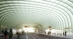Innen, Dachkonstruktion  © Auer+Weber+Assoziierte