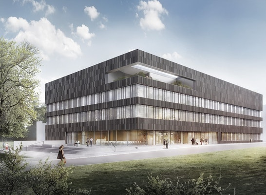 Ergebnis Neubau Forschungszentrum Universit 228 T Hamb