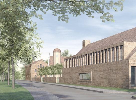 Wettbewerbsentwurf Löffler Kühn Architekten (Stand 02/2015)